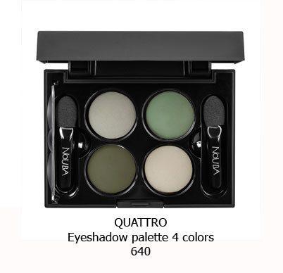 پالت سایه چهار رنگ NOUBA QUATTRO EYESHADOW-640