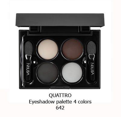 پالت سایه چهار رنگ NOUBA QUATTRO EYESHADOW-642