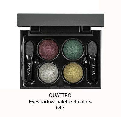 پالت سایه چهار رنگ NOUBA QUATTRO EYESHADOW-647