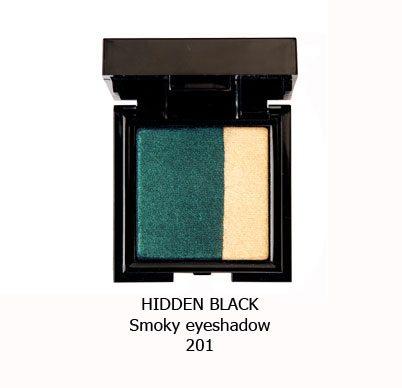 سایه اسموکی NOUBA HIDDEN BLACK-201