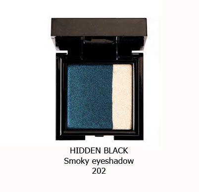 سایه اسموکی NOUBA HIDDEN BLACK-202