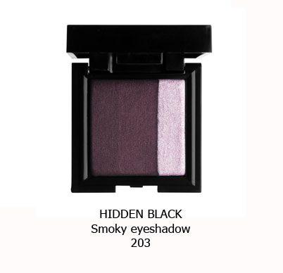 سایه اسموکی NOUBA HIDDEN BLACK-203