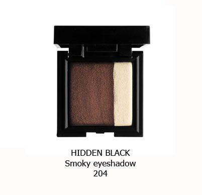 سایه اسموکی NOUBA HIDDEN BLACK-204