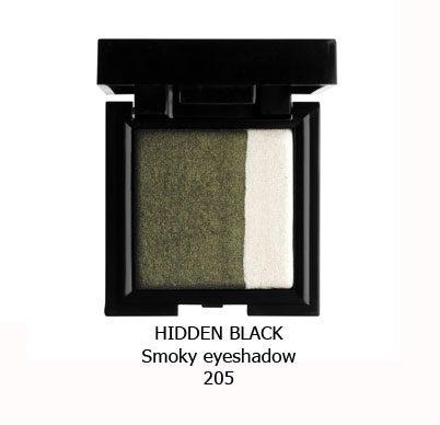 سایه اسموکی NOUBA HIDDEN BLACK-205