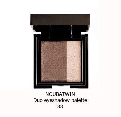 سایه چشم دورنگ NOUBA TWIN EYESHADOW-33