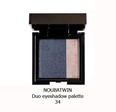 سایه چشم دورنگ NOUBA TWIN EYESHADOW-34