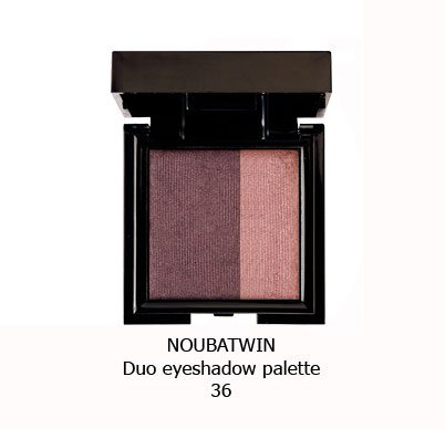 سایه چشم دورنگ NOUBA TWIN EYESHADOW-36