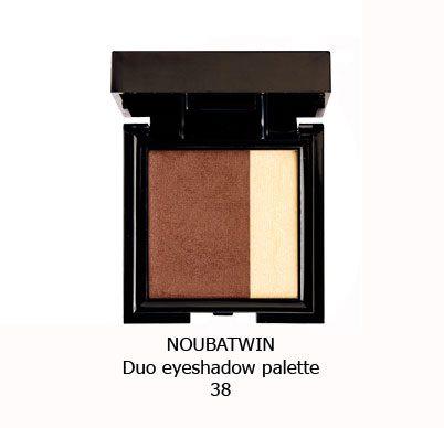سایه چشم دورنگ NOUBA TWIN EYESHADOW-38